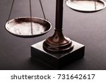 law scales. | Shutterstock . vector #731642617