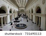 chicago  illinois. usa  august  ... | Shutterstock . vector #731690113