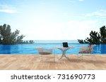 3d rendering   illustration of... | Shutterstock . vector #731690773
