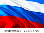 russia flag. russian flag. flag ... | Shutterstock . vector #731734723