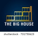 real estate  building ... | Shutterstock .eps vector #731750623