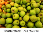 farmer's market produce | Shutterstock . vector #731752843