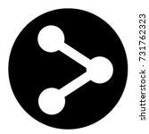 ui glyph circle  icon share