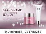 a beautiful cosmetic ada ... | Shutterstock .eps vector #731780263