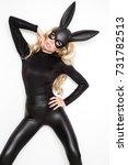 beautiful young woman in...   Shutterstock . vector #731782513