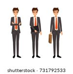business man character design.... | Shutterstock .eps vector #731792533