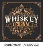 old design  badge for packing | Shutterstock .eps vector #731827963