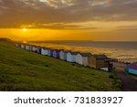 sea front huts   Shutterstock . vector #731833927
