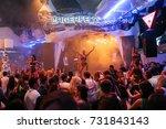 odessa  ukraine july 25  2015 ... | Shutterstock . vector #731843143