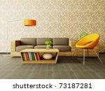 modern interior room with nice... | Shutterstock . vector #73187281