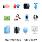 banking icons | Shutterstock .eps vector #73194859