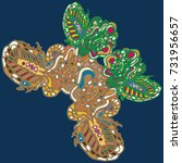 butterfly doodle new design... | Shutterstock . vector #731956657