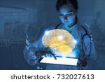 ai artificial intelligence ... | Shutterstock . vector #732027613