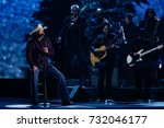 Small photo of NASHVILLE, TN-NOV Recording artist Alan Jackson performs at the 2014 CMA Country Christmas at the Bridgestone Arena on November 7, 2014 in Nashville, Tennessee.