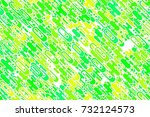seamless colored emerald shapes ... | Shutterstock . vector #732124573