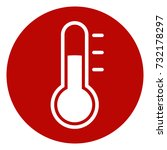 illustration of thermometer... | Shutterstock .eps vector #732178297