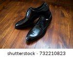 wedding  elegant shoes | Shutterstock . vector #732210823