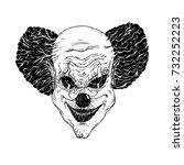 vector illustration of evil... | Shutterstock .eps vector #732252223