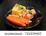 Grilled Toro Salmon Sushi  Sak...