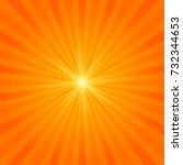 abstract sun burst background.... | Shutterstock .eps vector #732344653