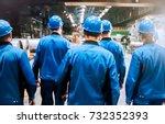abstract  blurry  bokeh... | Shutterstock . vector #732352393
