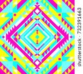 abstract geometric design.... | Shutterstock .eps vector #732391663