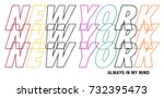repetition slogan. lettering '... | Shutterstock .eps vector #732395473
