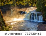 porcupine mountains | Shutterstock . vector #732420463