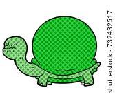 cartoon tortoise | Shutterstock .eps vector #732432517