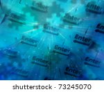 technology composition | Shutterstock . vector #73245070