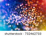 christmas background abstract... | Shutterstock . vector #732462733
