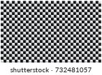 checkered flag. racing flag... | Shutterstock .eps vector #732481057