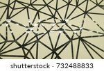 abstract glass background with... | Shutterstock . vector #732488833