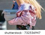 milan   september 20  woman... | Shutterstock . vector #732536947
