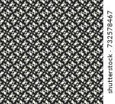 black and white melange mottled ... | Shutterstock .eps vector #732578467