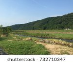 it is the scenery of the... | Shutterstock . vector #732710347