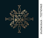 vector graphic  elegant line...   Shutterstock .eps vector #732765463
