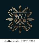 vector graphic  elegant line...   Shutterstock .eps vector #732810937