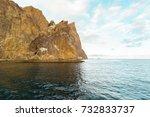 rock in the sea | Shutterstock . vector #732833737