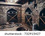 sighnaghi  georgia   april 24 ... | Shutterstock . vector #732915427