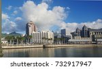 port louis  mauritius   august  ... | Shutterstock . vector #732917947