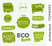 Healthy Food Icons  Labels....