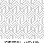 abstract geometric pattern with ... | Shutterstock .eps vector #732971407
