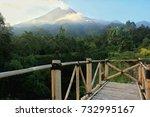 merapi mountain | Shutterstock . vector #732995167