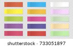 vector collection of color... | Shutterstock .eps vector #733051897