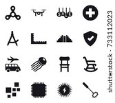 16 Vector Icon Set   Spinner ...