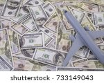 Small photo of Airplane on Money, the rising costs of airline travel. airline business