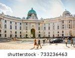 vienna  austria   august 28 ... | Shutterstock . vector #733236463