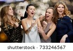 entertainment and people... | Shutterstock . vector #733246567