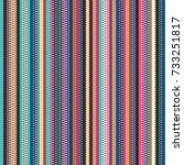 seamless wavy stripes pattern... | Shutterstock . vector #733251817